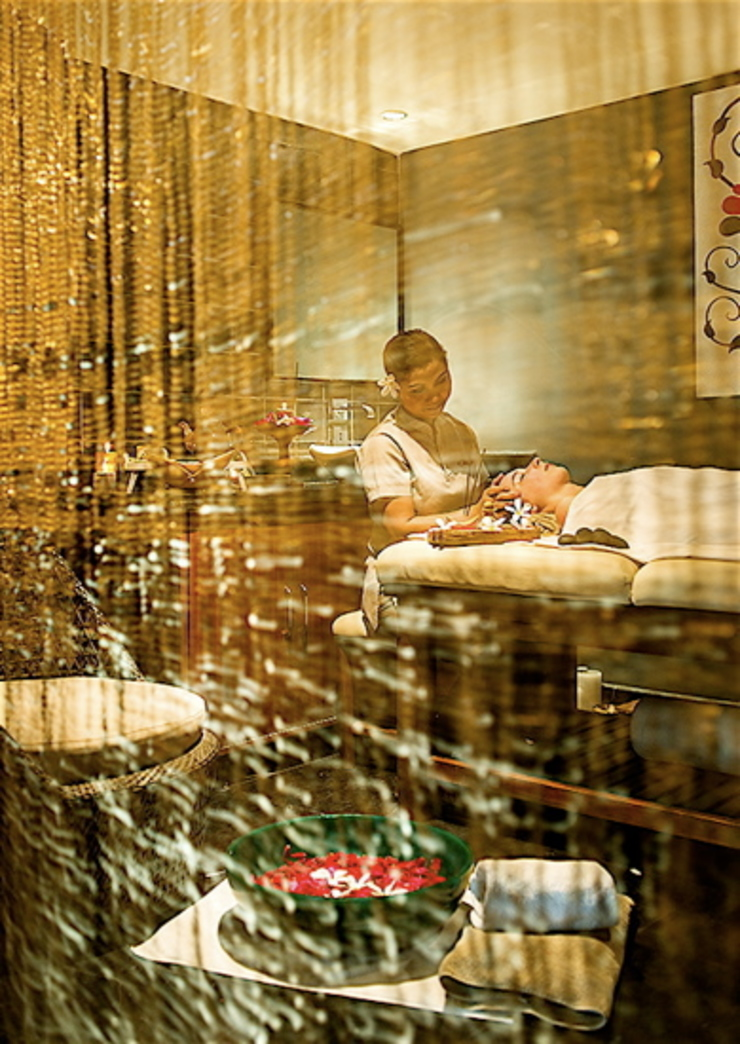 Champagne Gold Acrylic Crystal Bead Curtain: asian  by Memories of a Butterfly: bead curtains/screens/installations/Hanging Sculptures,Asian