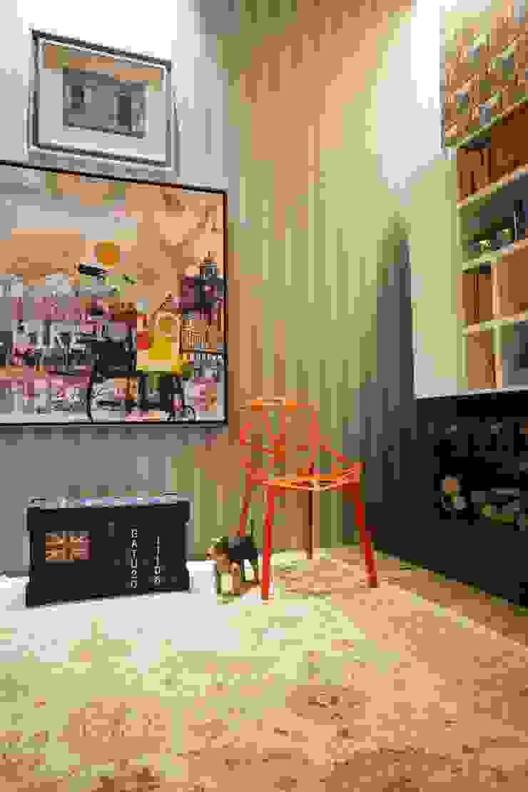 Sala Íntima Salas de estar rústicas por Orlane Santos Arquitetura Rústico