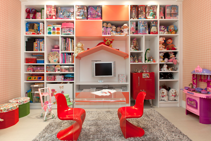 Brinquedoteca - Girl Room Quartos de criança modernos por Orlane Santos Arquitetura Moderno