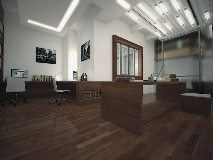 uffici in Milano Studio di CFA - Cucciniello Fabbrica d'Architettura