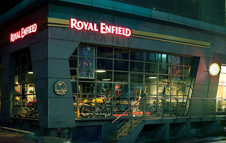 Royal Enfield Commercial space by Studio Lotus