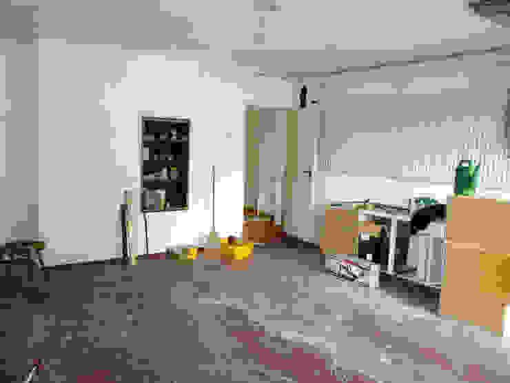 Umbau Küche mit Essbereich: industriell  von DIE RAUMPIRATEN®,Industrial