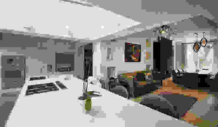 St James's Gardens, London Modern kitchen by Nelson Design Limited Modern