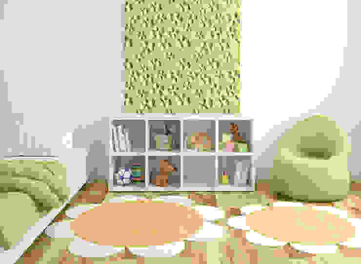 غرفة الاطفال تنفيذ Loft Design System Deutschland - Wandpaneele aus Bayern,