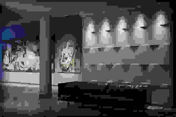 3D Wandgestaltung LOFT DESIGN SYSTEM Moderner Multimedia-Raum von Loft Design System Deutschland - Wandpaneele aus Bayern Modern