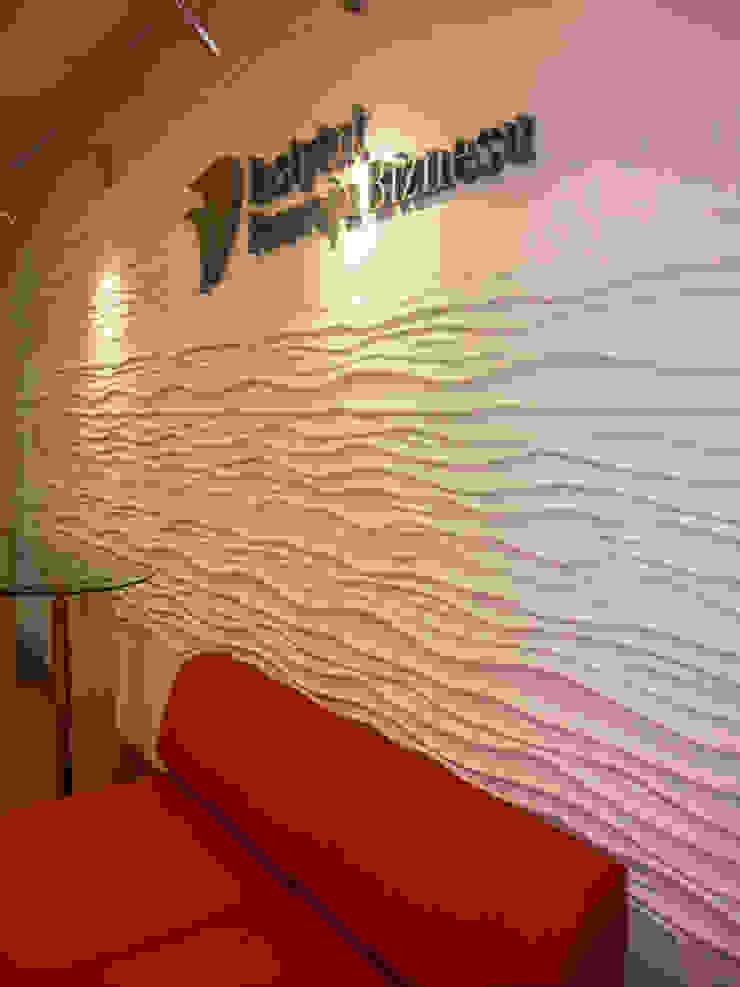 3D Wandverkleidung LOFT DESIGN SYSTEM Moderne Arbeitszimmer von Loft Design System Deutschland - Wandpaneele aus Bayern Modern