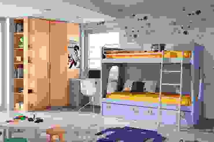 غرفة نوم أولاد تنفيذ Sofás Camas Cruces
