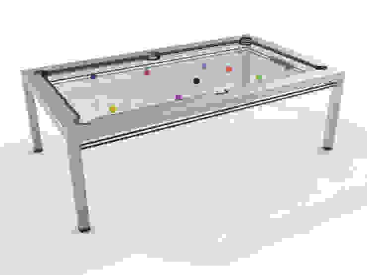 G4 Glass Pool Table: minimalist  by Quantum Play, Minimalist