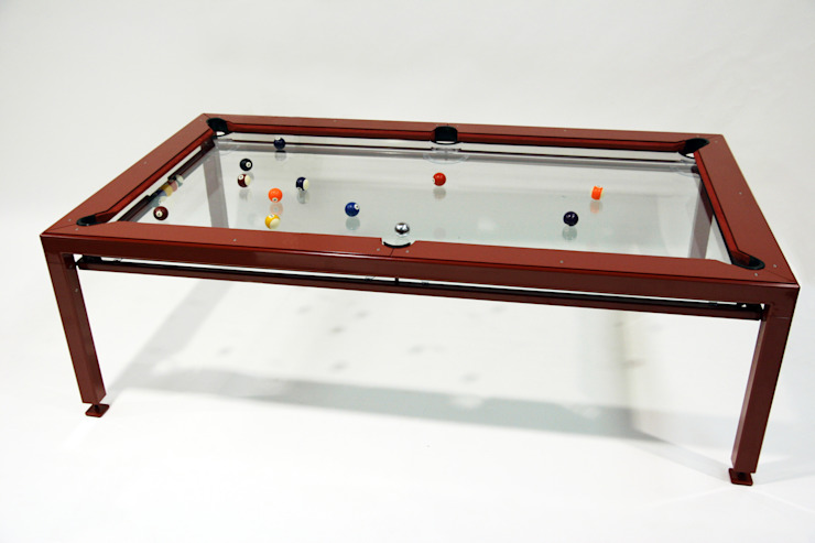 G4 Glass Pool Table: minimalist  by Quantum Play, Minimalist