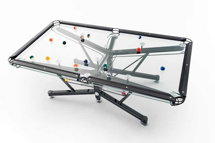 G1 Glass Pool Table Quantum Play Multimedia roomFurniture