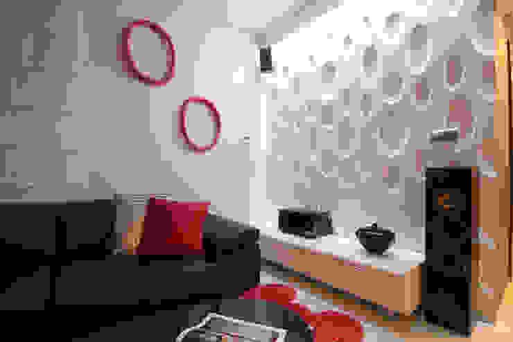 Moderne Wandgestaltung Moderne Wohnzimmer von Loft Design System Deutschland - Wandpaneele aus Bayern Modern