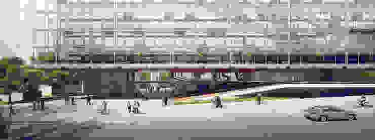 Edifício Anexo do BNDES - Projeto Premiado - 3º Lugar por São Paulo Arquitetos