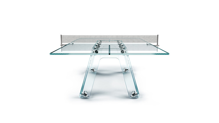 Lungolinea Ping-Pong Table: modern  by Quantum Play, Modern