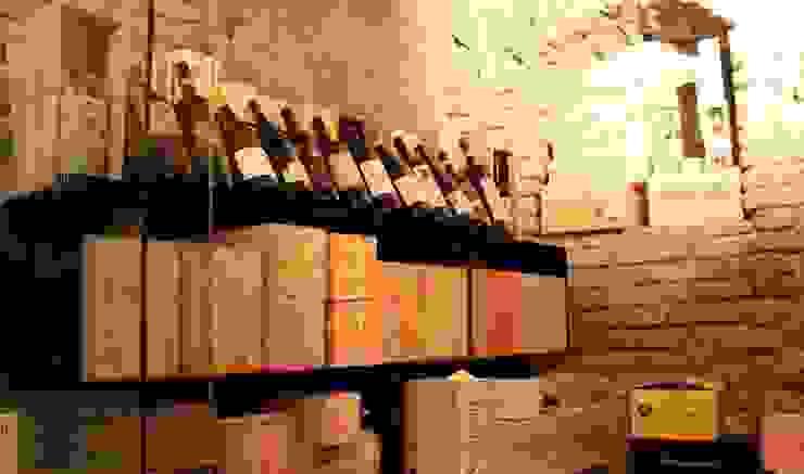 Esigo 2 Box, il porta vino Esigo per scatole e bottiglie di vino! di Esigo SRL Moderno Ferro / Acciaio