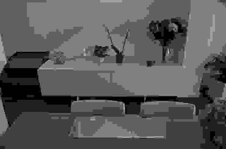 proyecto complementario de iluminación y muebles de Acero Puro Moderno