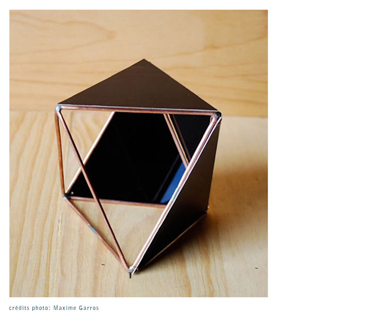 Octahedron project par Maxime Garros Minimaliste