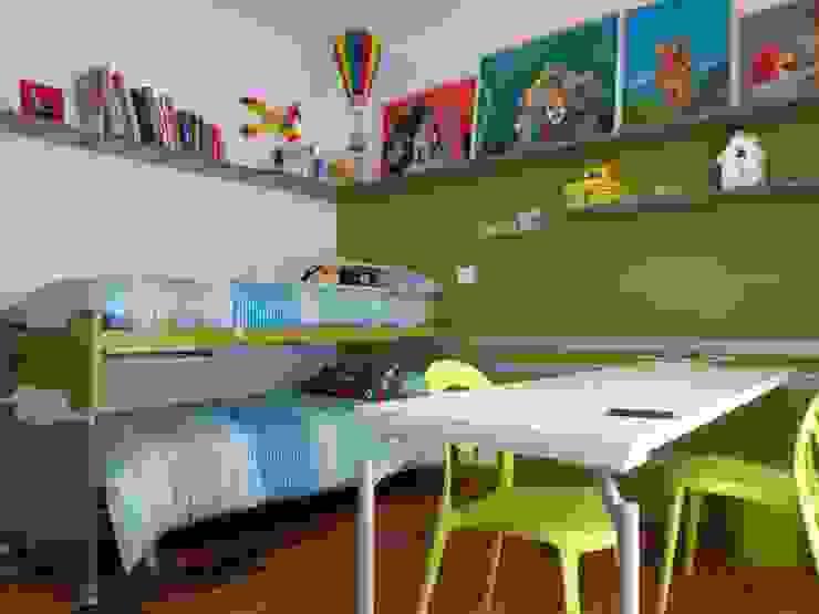 Dormitorios de estilo moderno de Massimo Adiansi Architetto Moderno