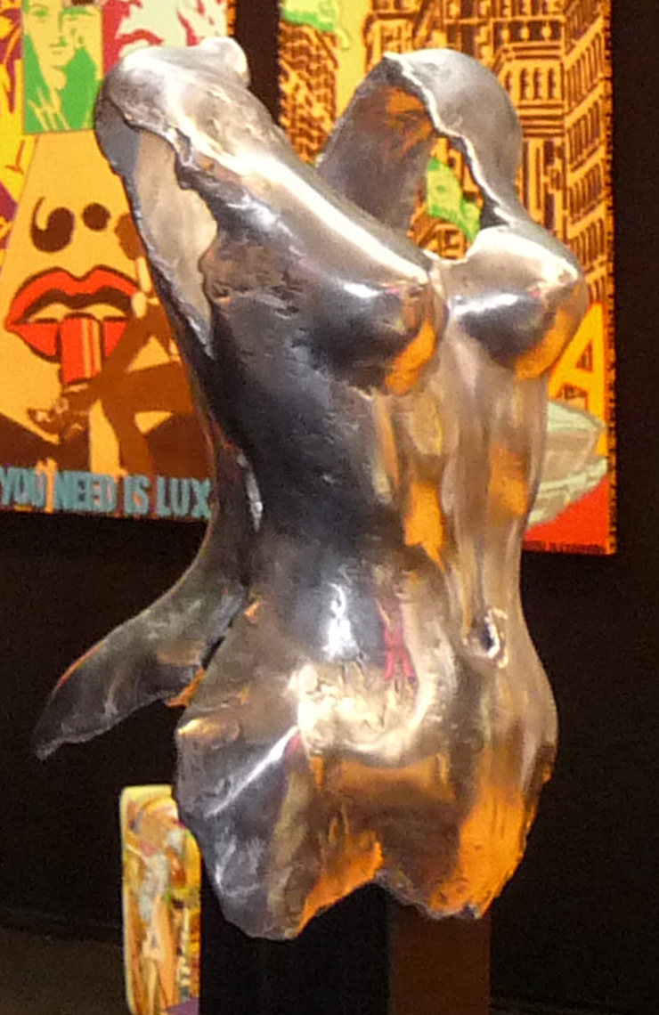 CORSET aluminium ABEL par ABEL sculpture