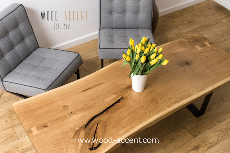 WOOD ACCENT od WOOD ACCENT Nowoczesny