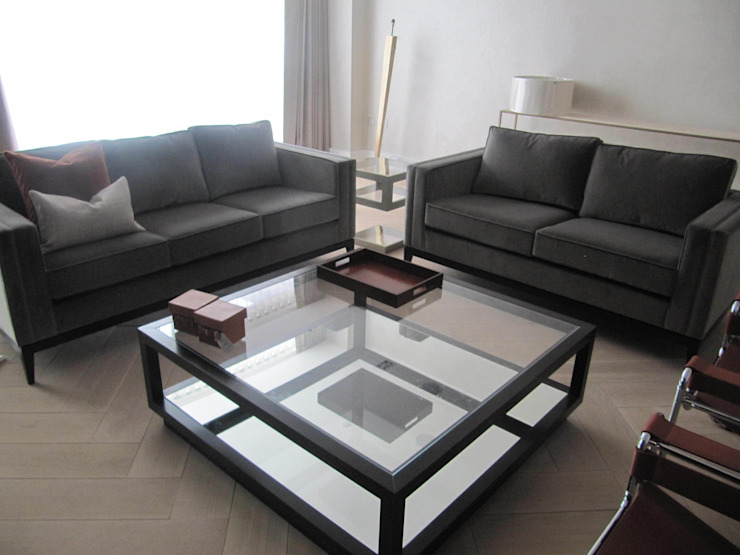 Chelsea apartment Modern living room by Novita Furniture Collection Modern