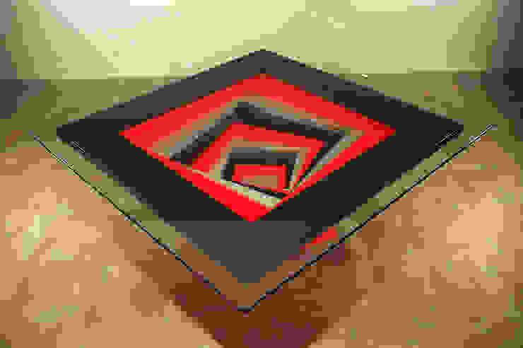 Table basse Spirale par Design Bois Creation Moderne