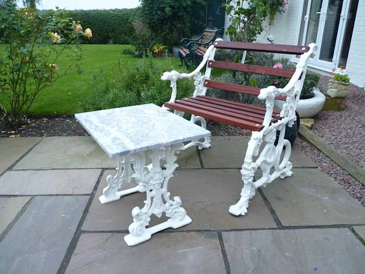 Garden Table by Stone Smart