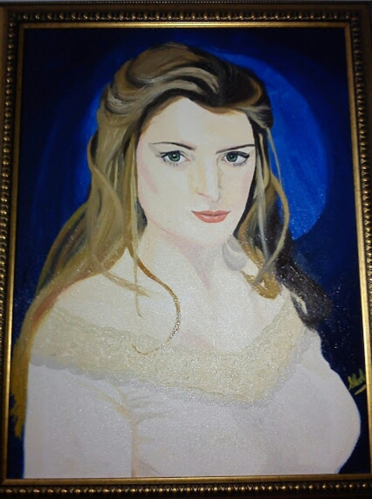 Oil painting- Rare Portraits for Interior decoration: asian  by SHEEVIA  INTERIOR CONCEPTS,Asian