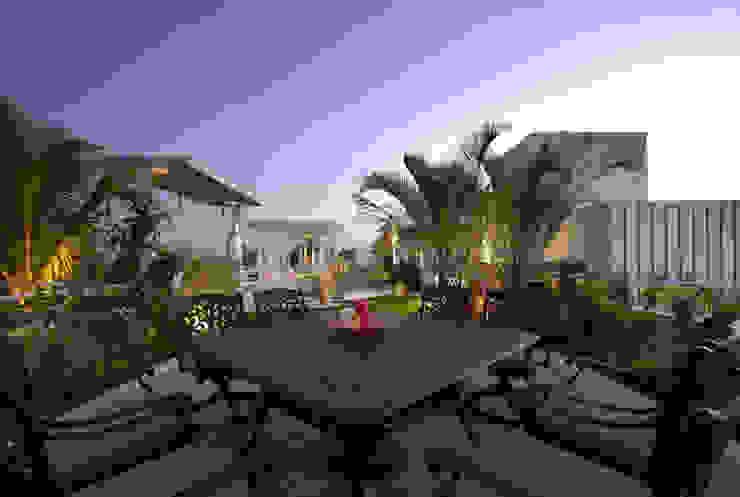 Manish Patel Penthouse by Dipen Gada & Associates