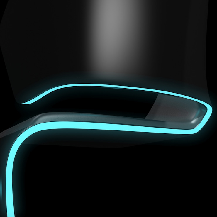 Lamed Chair design © Rodolphe Pauloin par luxense design Moderne