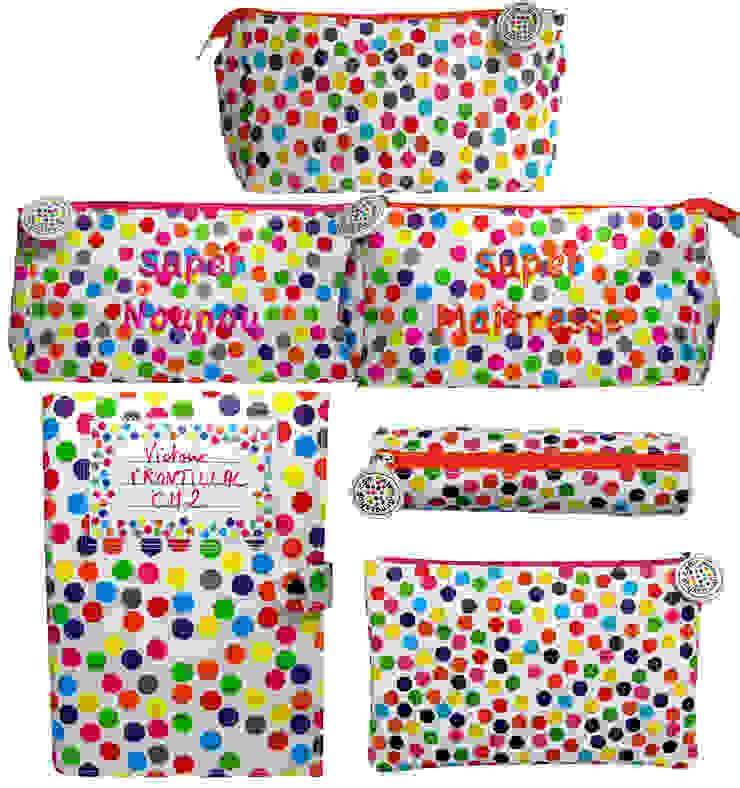Trousse multi-usages pois multicolores par anna's shop