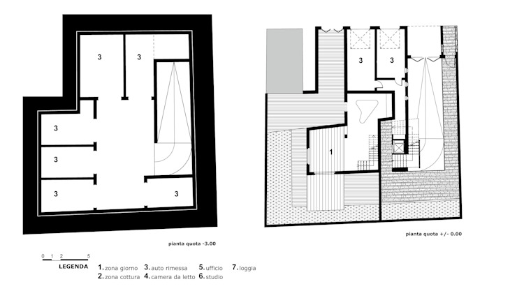 Edificio residenziale BRANCACCI di Alessandro Luigini ARCHITETTO Eclettico