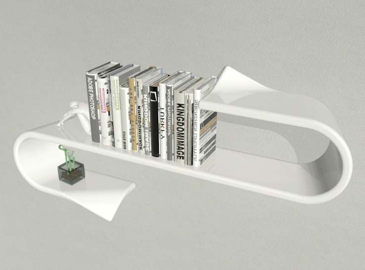 mensola Waveshelf di B & G design Moderno