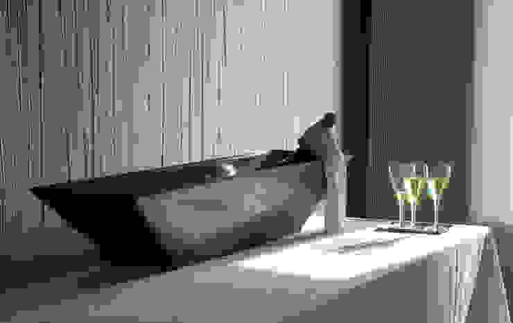 """VASE de la collection """"Diamant"""" par KING KONG CONCRETE FURNITURE Industriel"""