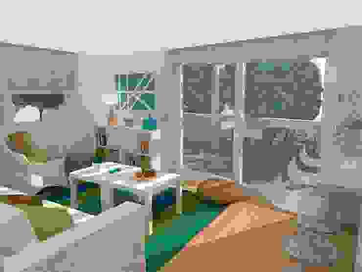 Apartamento de la playa / Beach Apartment Casas de estilo mediterráneo de Julia Design Mediterráneo