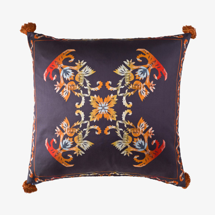 Flame :: Cushion: eclectic  by Julia Brendel Limited, Eclectic