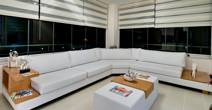 Corner Sofas Woonkamer van Hconcept Interiors London Ltd.
