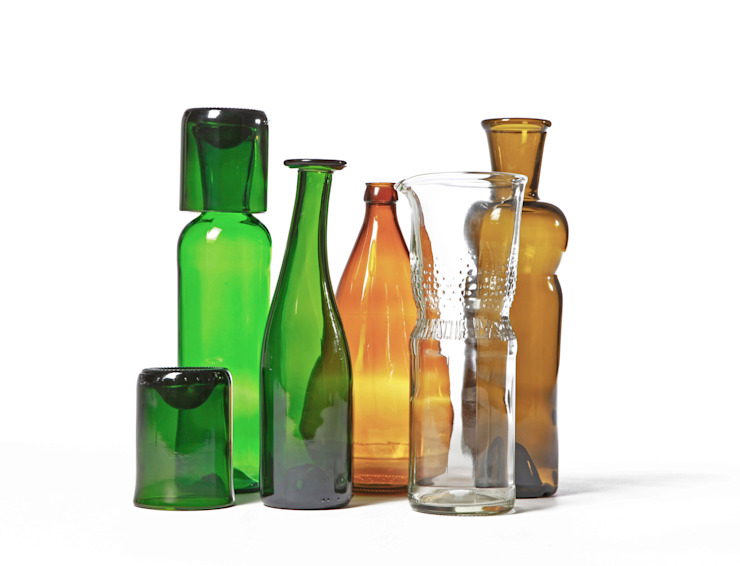 SAMESAME Produktbilder von SAMESAME upcycled glass products