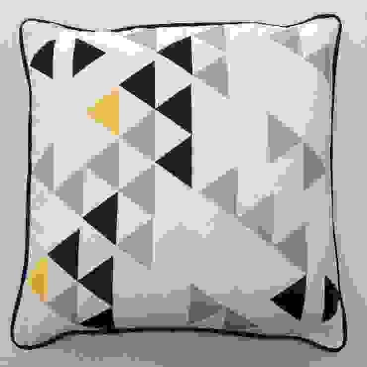 Polygon cushion by A Mind's Eye An Artful Life HouseholdHomewares