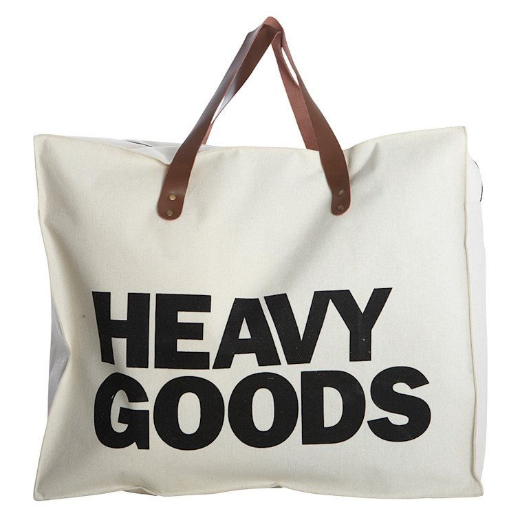 Heavy goods storage bag by An Artful Life