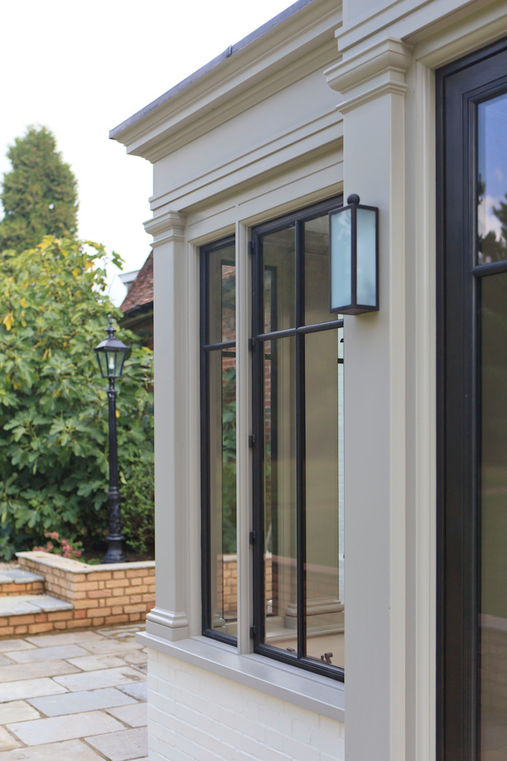 Orangery with Bronze Casements Konservatori Modern Oleh Vale Garden Houses Modern