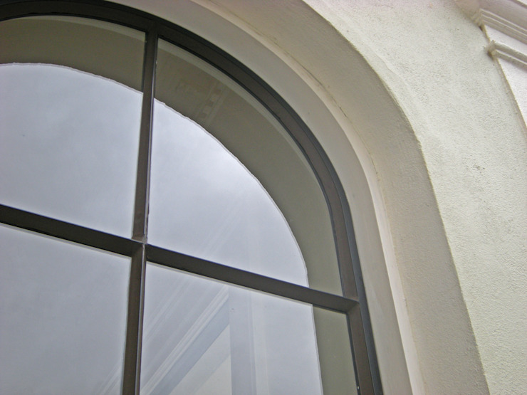 Arched Top Heritage Bronze Casement Architectural Bronze Ltd Finestre & PortePorte Metallo Nero