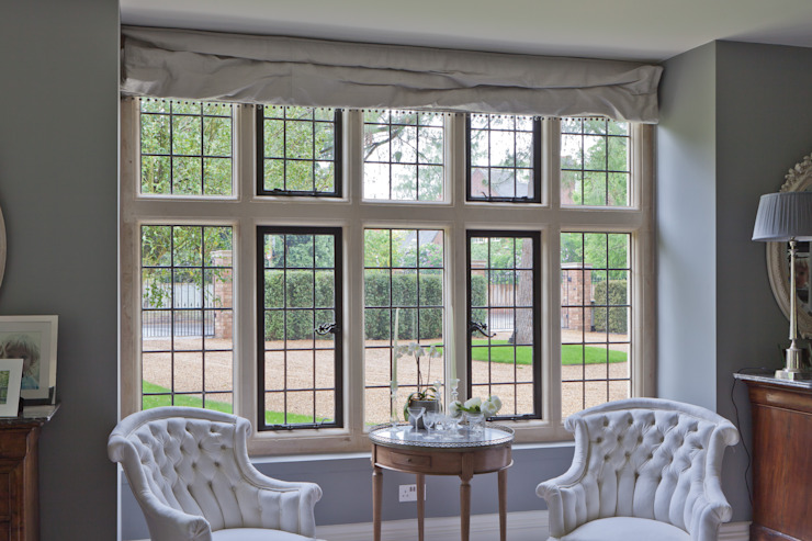 Traditional Leaded Heritage Bronze Casements: classic  by Architectural Bronze Ltd, Classic Metal