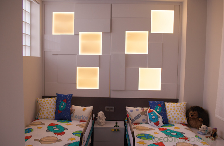 Quarto infantil moderno por Ideas Interiorismo Exclusivo, SLU Moderno