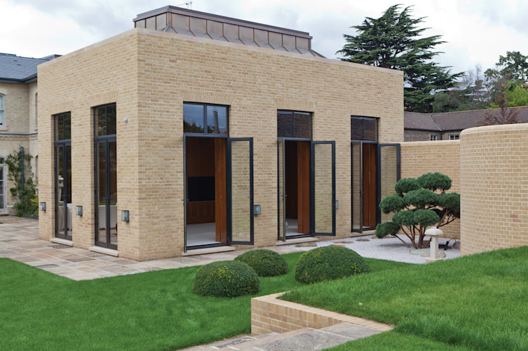 Double Clad Bronze Doors Architectural Bronze Ltd Finestre & PortePorte Metallo Nero
