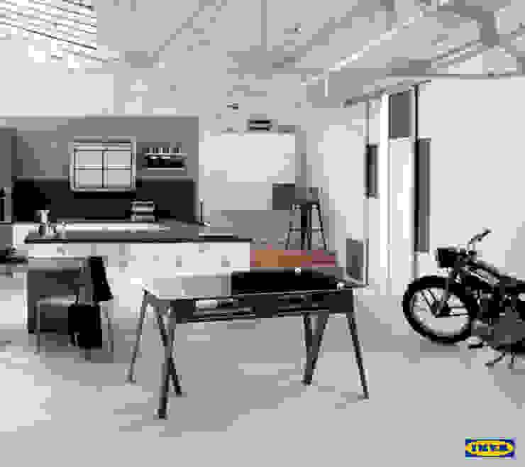 Bureau Ikea автор Sandrine Danho Homify