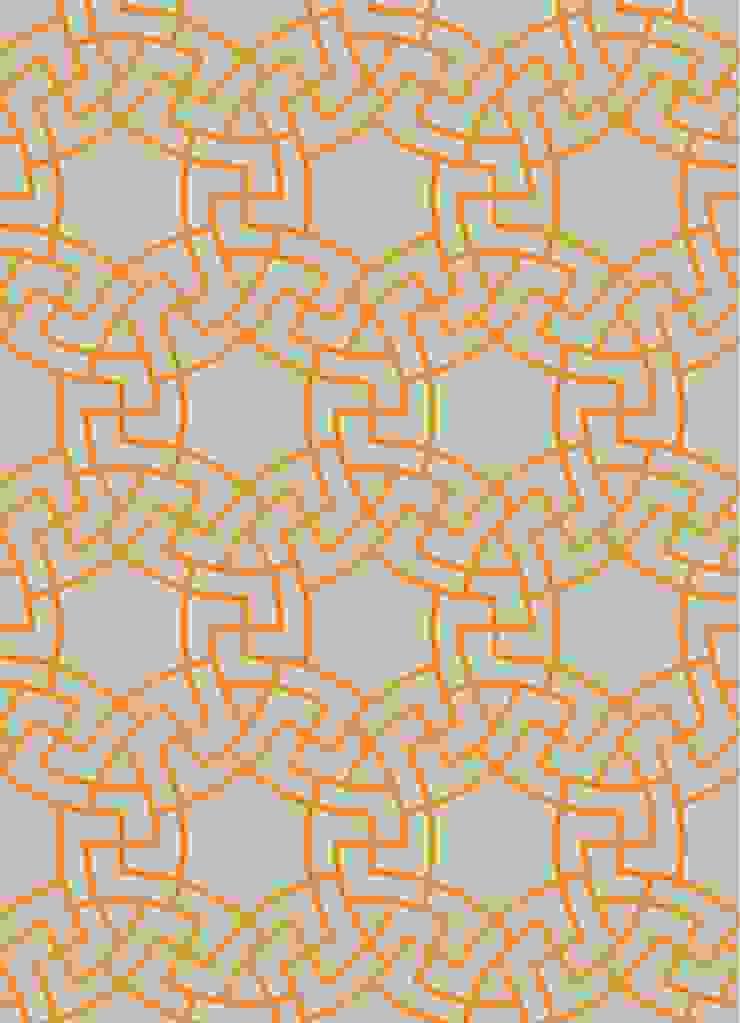 MICA Zen Rainbow Collection - Orange: modern  by Mica Gallery Ltd, Modern