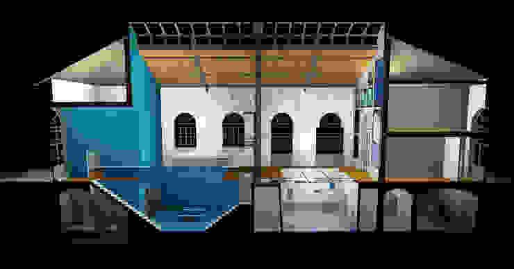 Museo Dell'Acqua Musei moderni di AEA STUDIO ESPOSITO Moderno