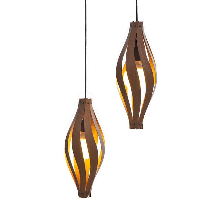 Cocoon Pendant light: modern  by MacMaster Design, Modern