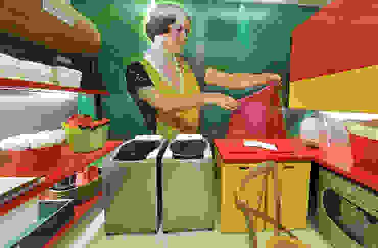 Cocinas de estilo moderno de Rozânia Nicolau Arquitetura & Design de Interiores Moderno