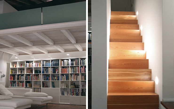 Casa G Ingresso, Corridoio & Scale in stile moderno di Pier Maria Giordani Architetto Moderno